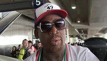 Dennis Rodman DUI: Swerving & Blaring Music, Cops Say