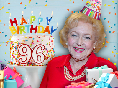 Betty White Celebrating 96th Birthday by Taking Day Off, Dinner with Friends
