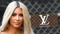 Kim Kardashian's NOT Dropping Baby Name Hints with Louis Vuitton Posts