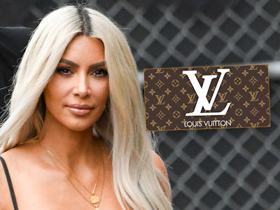 Kim Kardashian's NOT Dropping Baby Name Hints with Louis Vuitton Posts