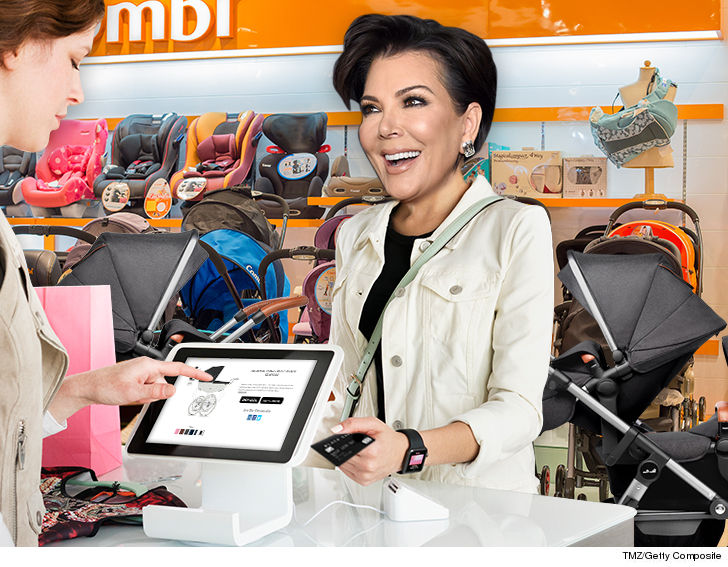Kris Jenner Stocked Up On Pricey Strollers Ahead Of Kardashians 3