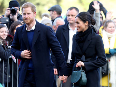 Prince Harry and Meghan Markle Make First Official Visit to Wales