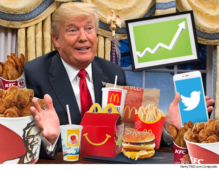 Image result for trump mcdonalds
