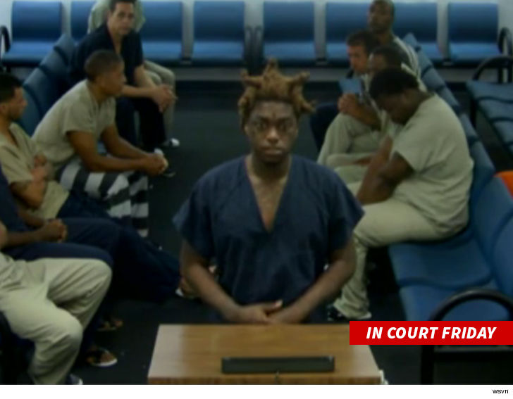 Kodak Black got busted after cops saw his infant child surrounded by drugs  and a handgun during an Instagram Live broadcast.