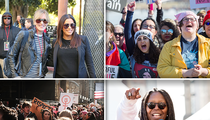 Women's March 2018 Draws Huge Crowds in Major U.S. Cities Again