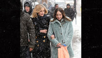 Carey Mulligan Freezes Her Head Off in Sundance