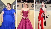 SAG Awards 2018 Ditches Black Outfits, Still Boasts 'Time's Up'