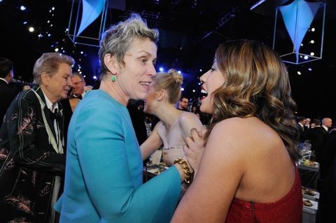 Frances McDormand and Elizabeth Rodriguez