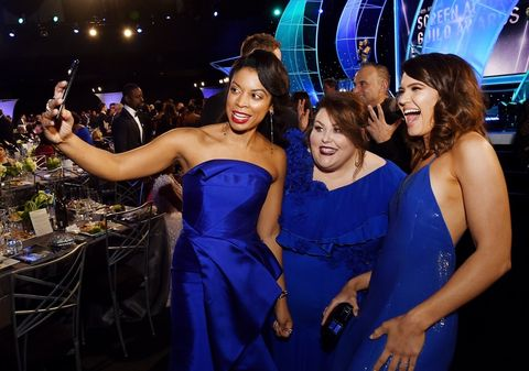 Susan Kelechi Watson , Chrissy Metz and Mandy Moore