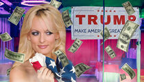 Stormy Daniels' Business is Booming Thanks to President Trump