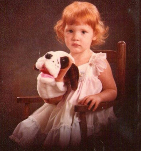 Before this red-headed pup was getting snubbed at this year's Academy Awards, she was just another puppet-playing kid growing up in Sacramento, CA.