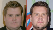 James Corden -- Good Genes or Good Docs?