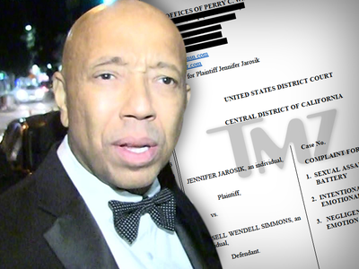 Russell Simmons Sued for Millions Over Alleged Rape