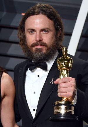 Casey Affleck -- Winning at the 2017 Oscars