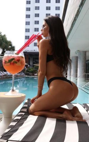 Jen Selter's Bikini Photos -- Drink 'Em In