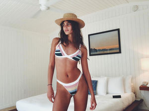 Taylor Hill's Bikini-Filled Bahamas Vacation