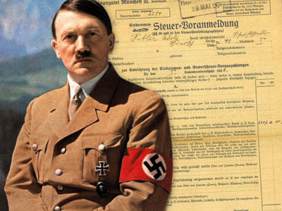 Adolf Hitler's 1926 Tax Return Up For Sale