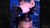 Yasiel Puig Gets Head Shaved By Kids Fighting Cancer!!