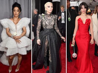 Grammys 2018 Brings Out White Roses for Time's Up