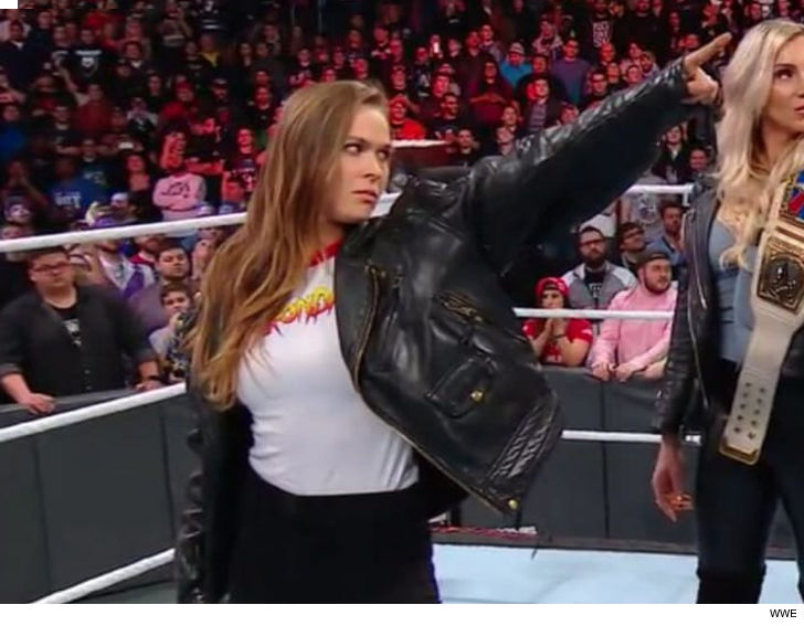 Ronda Rousey Is A Wwe Superstar