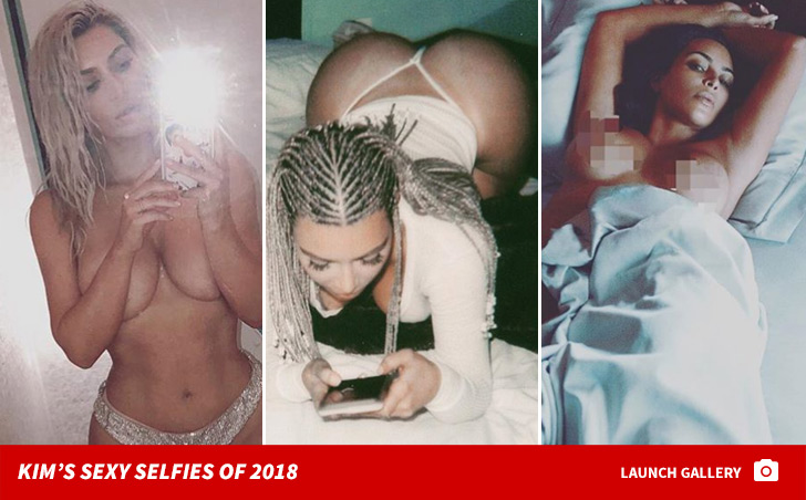 Kim said her wild side is still there ...