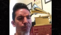 Justin Bieber's Latin Grammy for 'Despacito' Sent to Marc Anthony's Producer By Mistake