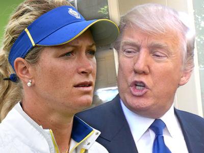 LPGA's Suzann Pettersen: Trump Cheats Like Hell at Golf, But I Love Him! (UPDATE)
