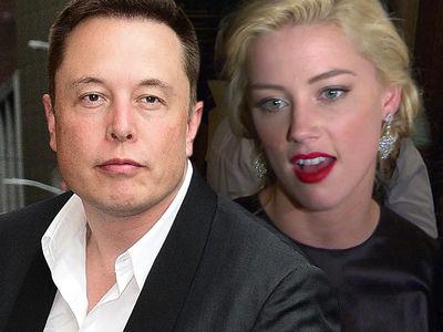 Elon Musk and Amber Heard Break Up ... Again