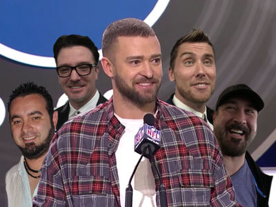 'NSYNC Super Bowl Reunion Buzz Builds with Alleged Sightings