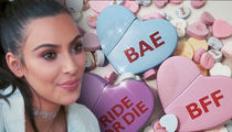 Kim Kardashian West Sends Valentines to Taylor Swift, Blac Chyna and Other Enemies