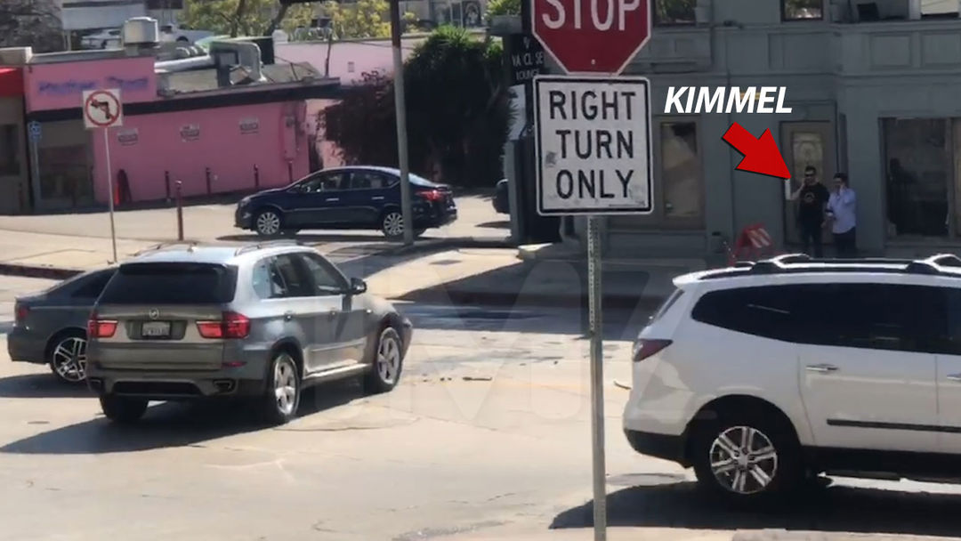 Jimmy Kimmel Gets in Sunset Strip Car Wreck, No Injuries | TMZ.com