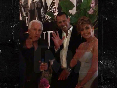Jennifer Lopez at Guess Party with Paul Marciano On Heels of Sexual Abuse Allegations