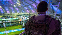 Super Bowl LII's High Security Includes Bulletproof Vests & Humvees