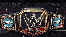 WWE Sends Philadelphia Eagles Championship Belt!!!