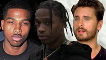Tristan Thompson, Travis Scott and Scott Disick Have No Written Custody Agreement with the Kardashians