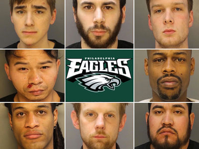 Philadelphia Eagles Mayhem Arrests, Cops Release Celebratory Mug Shots