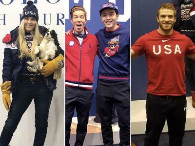 Team USA Arrivals in PyeongChang for Winter Olympics