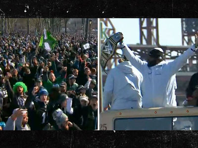 Eagles Fans Flood Streets for Super Bowl Parade, Millions Estimated in Attendance!