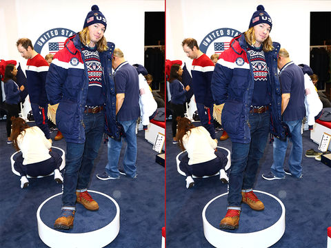 Can you spot the THREE differences in these David Wise photos?