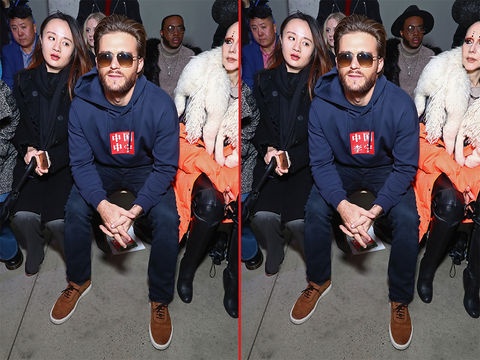 Can you spot the THREE differences in these Scott Eastwood photos?