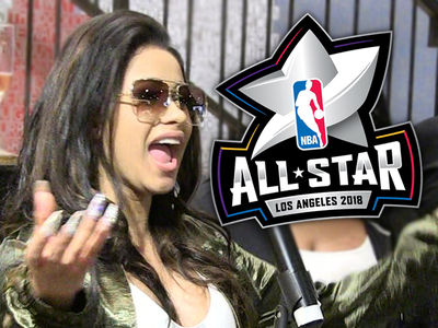 Cardi B Shakes Off Death Threats, Hell-Bent On All-Star Weekend Gigs