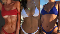 Red, White and Blue Bikini Babes -- Guess Who!