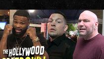 Tyron Woodley Addresses Dana White, Nate Diaz Drama
