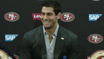 Jimmy Garoppolo Credits Tom Brady In $137 Mil Press Conference