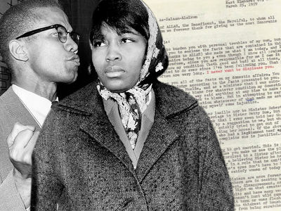 Malcolm X's Letter About Marital Troubles for Sale