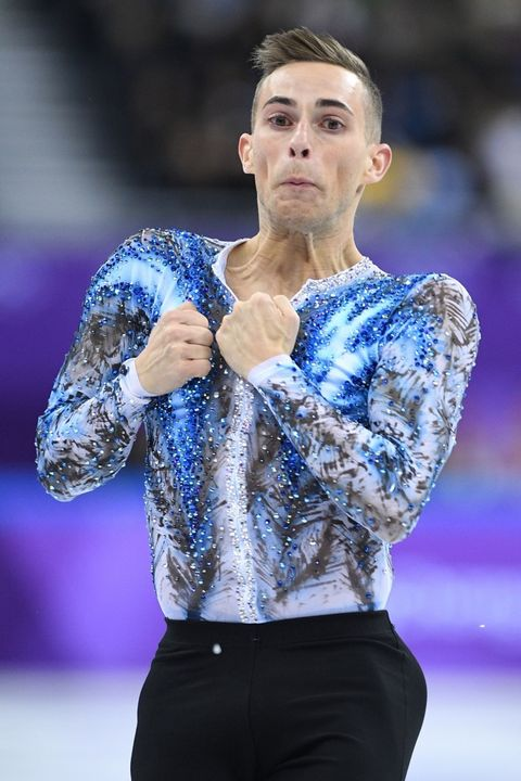 Adam Rippon of the United States of America
