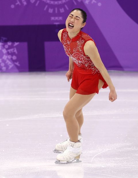 Mirai Nagasu of the United States of America