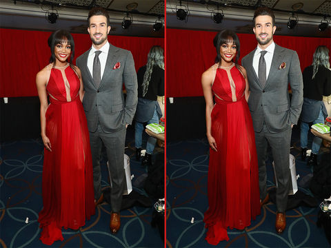 Can you spot the THREE differences in these Rachel Lindsay and Bryan Abasolo photos?