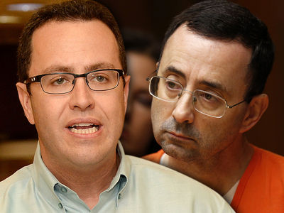 Jared Fogle Thinks He Got Screwed and Larry Nassar Got Leniency