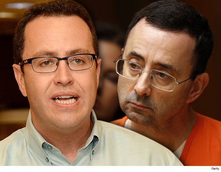 Jared Fogle Might Have His Most Ridiculous Legal Argument Yet For A Judge To Undo His Plea Deal And Larry Nassar Is His Exhibit A